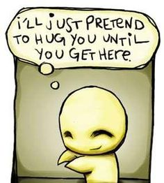 """""""We need four hugs a day for survival.We need eight hugs a day for maintenance.We need twelve hugs a day for growth."""" The importance of hugs!=D ENFP TRUTH Amor Emo, Cute Love Quotes, Sweet Quotes, Amazing Quotes, Best Friend Quotes, Best Friends, Bestest Friend, Emo Cartoons, Tu Me Manques"""