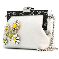 Dolce & Gabbana 'Vanda' clutch (4 126 775 LBP) ❤ liked on Polyvore featuring bags, handbags, clutches, purses, handbags purses, floral handbags, dolce gabbana handbag, dolce gabbana purse and embellished handbags