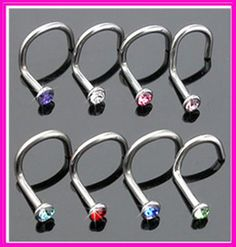 Body piercing titanium nose screw rings 2mm rhinestone crystal gem nose hoop studs charm body jewelry percing nez septo anillos♦️ SMS - F A S H I O N  http://www.sms.hr/products/body-piercing-titanium-nose-screw-rings-2mm-rhinestone-crystal-gem-nose-hoop-studs-charm-body-jewelry-percing-nez-septo-anillos/ US $2.29