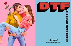 OkCupid Redefines 'DTF' in Striking Ads That Are Like Little Works of Art – Adweek