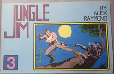 JUNGLE JIM Bradley #3 Sunday Pages Aug 12 1934 to Nov 25 1934 Alex Raymond LARGE Action Hero Newspaper Comic Strip Reprint Johnny Weismuller