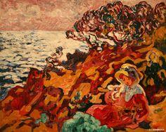 Philomene, 1907 by Sonia Delaunay (Sarah Ilinitchna Stern) Ukraine) Maurice Denis, Pierre Bonnard, Paul Gauguin, Modern Artists, French Artists, Renoir, Martin Johnson, Sonia Delaunay, Edouard Vuillard