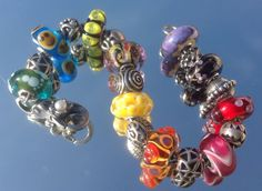Funky friday :-) From a great Trollbeads collector on Trollbeads Gallery Forum! Join us!