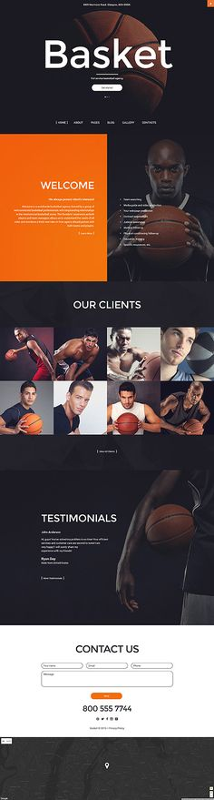 Full Service Basket Agency #Joomla #template. #themes #business #responsive #Joomlathemes