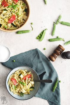 Cestovinový šalát / Pasta salad Avocado Toast, Pasta Salad, Breakfast, Tableware, Food, Crab Pasta Salad, Morning Coffee, Dinnerware, Tablewares