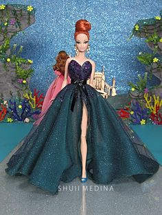 757 Likes, 2 Comments - Jesus Medina Barbie Gowns, Barbie Clothes, Fashion Royalty Dolls, Fashion Dolls, Barbie Miss, Barbie Fashionista Dolls, Disney Princess Dolls, Disney Couture, Beautiful Barbie Dolls