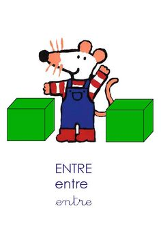 Maisy Mouse, Kindergarten, Math Projects, Learn German, Prepositions, Teaching French, Interactive Notebooks, Kids Education, Positivity