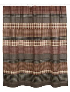 Country Shower Curtains Appleseed PrimitivesPrimitive And - Country shower curtains for the bathroom for bathroom decor ideas