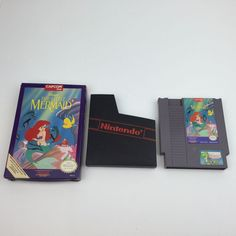 Disney The Little Mermaid Nintendo Original NES Game Cartridge