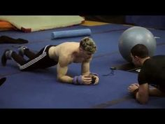 (9) Cirque du Soleil's back and core training - YouTube