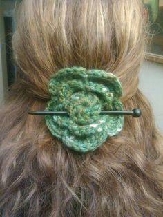 Accesorio cabello verde