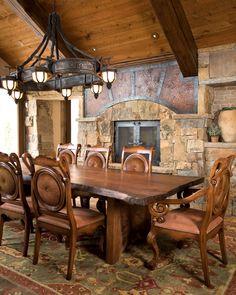 Great Table....Dining room   Paula Berg Design Associates