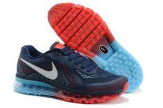 Womens Nike Air Max 2014 Red Dark Blue.jpg (800×531)