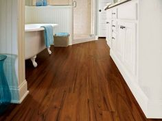 Using a waterproof laminate flooring is very recommended. So, what are the best waterproof laminate flooring that you can get? Here is the list waterproof laminate floor. Laminate Flooring Bathroom, Waterproof Laminate Flooring, Wood Floor Bathroom, Wood Tile Floors, Hardwood Floors, Plank Flooring, Bathroom Ideas, Downstairs Bathroom, Bathroom Designs
