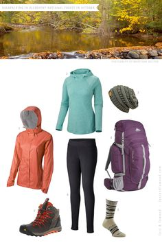 Exciting The Trip - The Outfit / Backpacking in October Hiking Training, Hiking Gear, Hiking Shirts, Hiking Boots, Camping Outfits, Hiking Outfits, Hiking Clothes, Trekking Outfit, Hiking Essentials