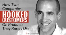 Not every business needs to have habit-forming products. Here's how two companies hooked customers and formed habits with products they rarely used. Seo Marketing, Business Marketing, Social Media Marketing, Larry Page, Consumer Behaviour, Two's Company, Customer Experience, Lead Generation, Web Development