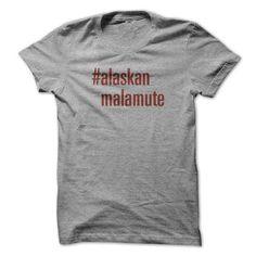 Alaskan Malamute Social Network Hashtag T Shirts, Hoodie Sweatshirts