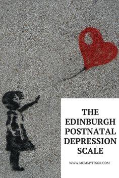 Edinburgh Postnatal Depression Scale |  Postpartum Depression Scale | Depression Test | Depression Survey | Depression Questionnaire | Mental Health For Mums | Baby Blues | Perinatal Mental Health | Maternal Mental Health |