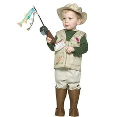 "Future Fisherman Halloween Costume - Infant/Toddler Size - Buyseasons - Toys ""R"" Us"