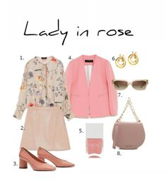 lady in rose Easter Brunch, Spring Colors, What To Wear, Dress Up, Rose, Lady, Outfits, Clothes, Fashion