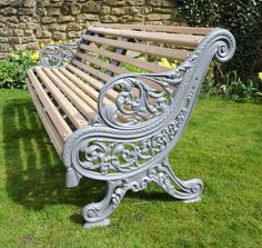 8ba755caba414 People also love these ideas. Victorian Carron Foundry bench ...