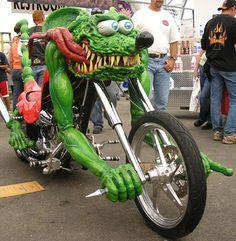 Bike at Sturgis....what a hoot