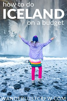 Iceland is an expensive country, but it's possible to travel Iceland on a budget and still have a great time! #Iceland #BudgetTravel #FamilyTravel