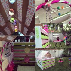 Pallets house for my little princess! :) www.mindesine.weebly.com mindesine (FB & Instagram)