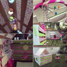 Pallets house for my little princess! :) www.mindesine.weebly.com mindesine (FB & Instagram)