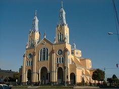 Chiloé. Iglesia de Castro