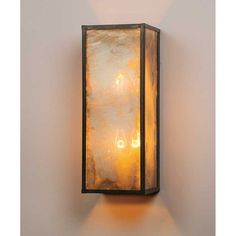 Urban Electric Antique Rectangle Wall Sconce in Blackened Pewter UE-1004WR-BP