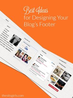 The footer of your blog is an important space. Don't neglect it. Here are some design ideas to make your blog footer work for you.