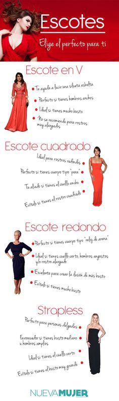 Si quieres lucir espectacular, toma nota de estos consejos para que aprendas a elegir las prendas que más favorecen tu cuerpo.
