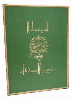 Rubaiyat of Omar Khayyam Edward Fitzgerald First and Fourth 1930 English Verse
