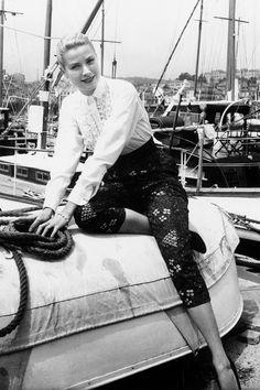 Grace Kelly, Cannes 1955