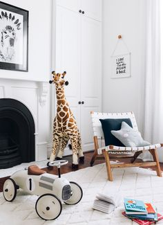 An awesome modern nursery for kids! Save pin for inspiration and product details. Styling by oh.eight.oh.nine