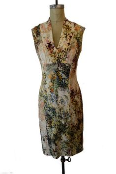 The floral v-neck dress from Toronto's Zili Otto