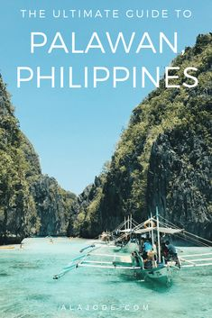 Palawan Philippines: Things to do in El Nido and Coron. Palawan is one of the most beautiful places, not just in the Philippines but in the entire world. Here's what to do in El Nido and Coron, the two most popular resorts in Palawan. Voyage Philippines, Philippines Travel Guide, Philippines Vacation, Manila, Cool Places To Visit, Places To Travel, Travel Destinations, Travel Tips, Travel Goals