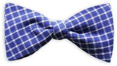 Querbinder Royal blau – Zena Millan – handcrafted bow ties