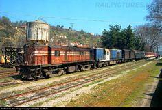 RailPictures.Net Photo: A.208 + A-364 OSE Hellenic Railways ALCO, RS8 DL532B + ALSTHOM, CC-AD2400C1 at Edessa, Greece by ARTEMIS KLONOS