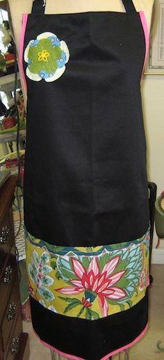 free apron pattern - plus size