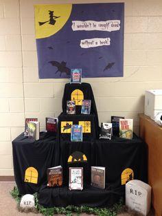 My Pintrest inspired Halloween display!