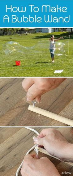 Make these giant bubble wands for giant bubbles to play with this summer! 2019 - ruffle tutu bubble blank bubble dress bubble pink bubble romper bubble romper for girl bubbles smocked bubble bubble bubbles ruffle bubble - Ruffle Bubbles Giant Bubble Wands, Bubble Diy, Giant Bubbles, Bubble Party, Homemade Bubble Wands, Giant Bubble Recipe, Homemade Outdoor Games, Outdoor Games For Kids, Board Games For Kids