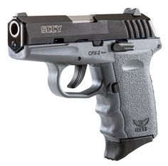 """SCCY Industries CPX2CBSG CPX-2 Double 9mm 3.1"""" 10+1 Gray Polymer Grip/Frame Grip Black Nitride Stainless Steel 