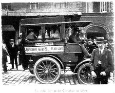 First bus in Vienna, 1900 Old Pictures, Old Photos, Vintage Photos, Measure For Measure, First Bus, Countries Around The World, Central Europe, Belle Epoque, Capital City