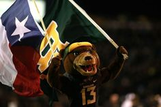 So much Baylor and Texas pride in one picture!