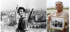 """ready-to-fight: """" Marina Ginesta, anti-fascist fighter in the Spanish Revolution when she was just 17, died today aged 94. """""""