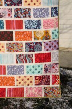Colorbrick Quilt featuring Anna Maria Horner by SplendorfallsSews