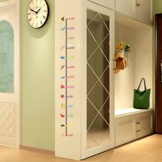 1PC Height Measure Decal Wall Sticker Under Sea Animal Heart Kids Room Baby Growth Chart Home Decor Beautiful Mural Poster-in Wall Stickers from Home & Garden on Aliexpress.com | Alibaba Group