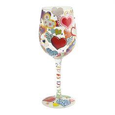 Lolita® Heart-rageous Wine Glass #VonMaur